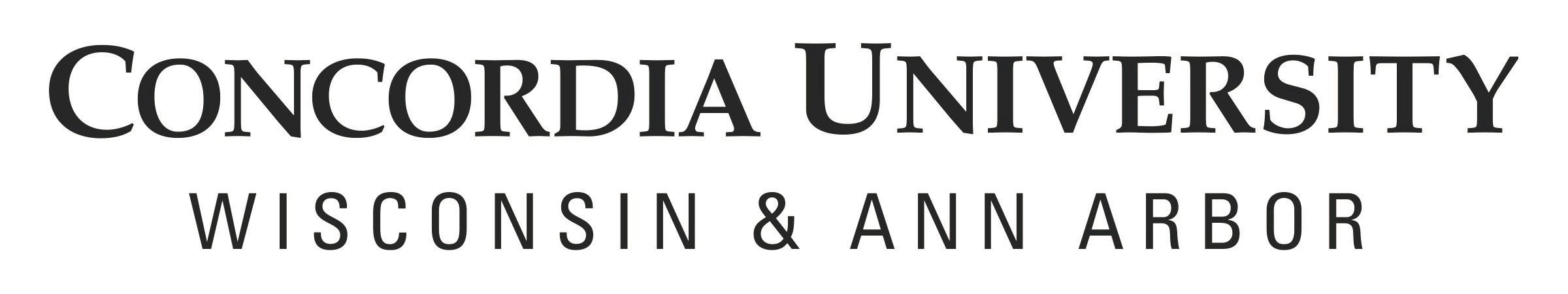 Concordia University Wisconsin/Ann Arbor logo