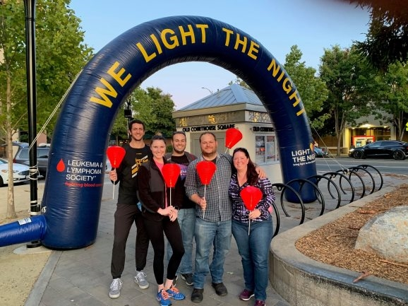 """BKF supports the Leukemia and Lymphoma Society across the Bay Area during the 2019 """"Light the Night"""" events"""