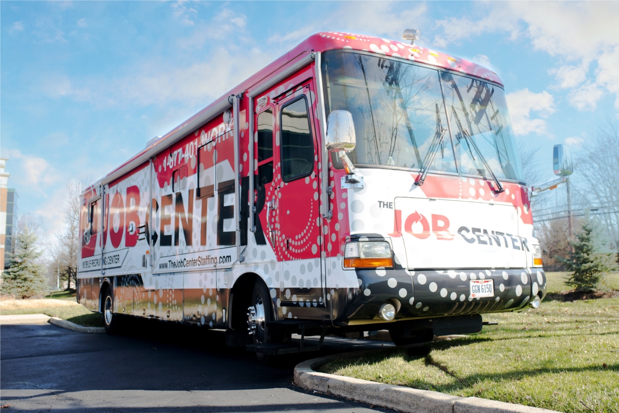 Our mobile recruiting center.