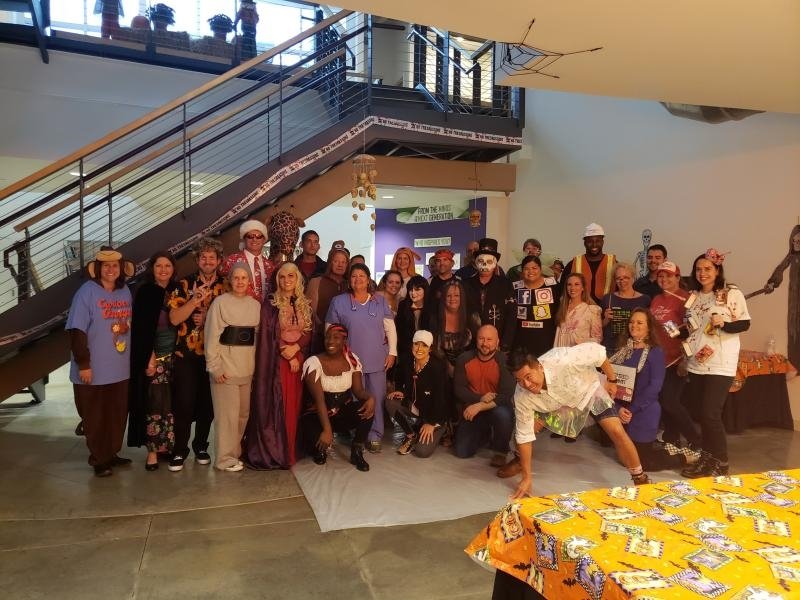 Halloween is a big deal around Pacesetter!