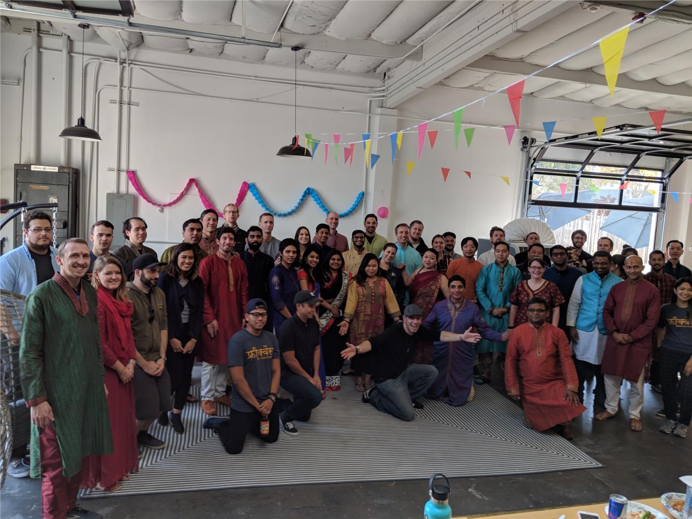 Celebrating Diwali at Frequence