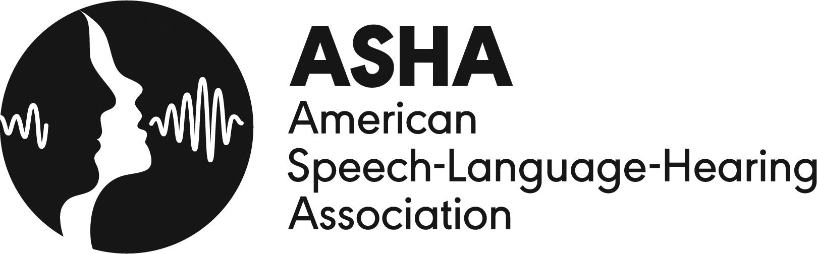American Speech-Language-Hearing Association logo