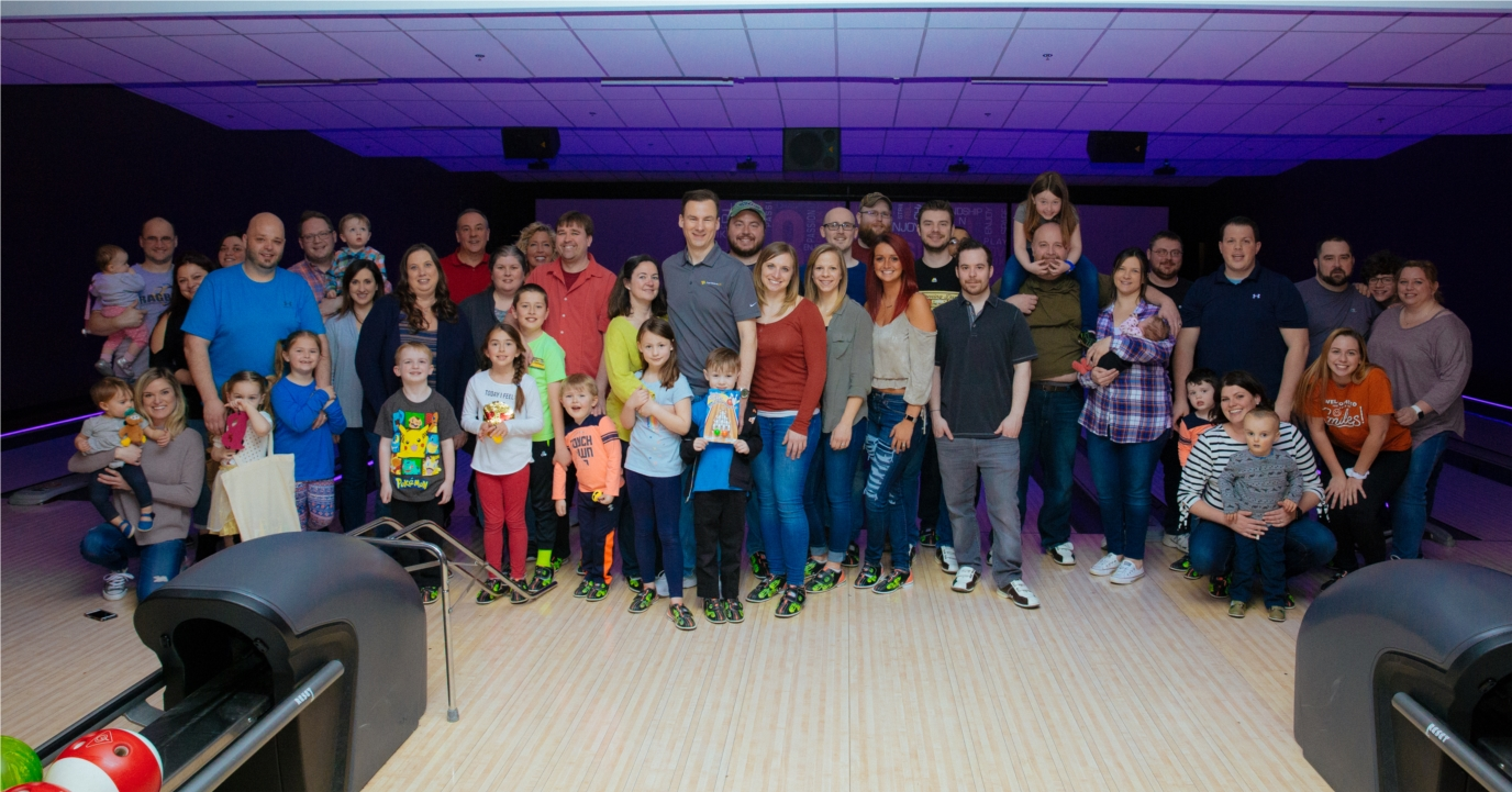 SoftWriters Family Bowling Outing