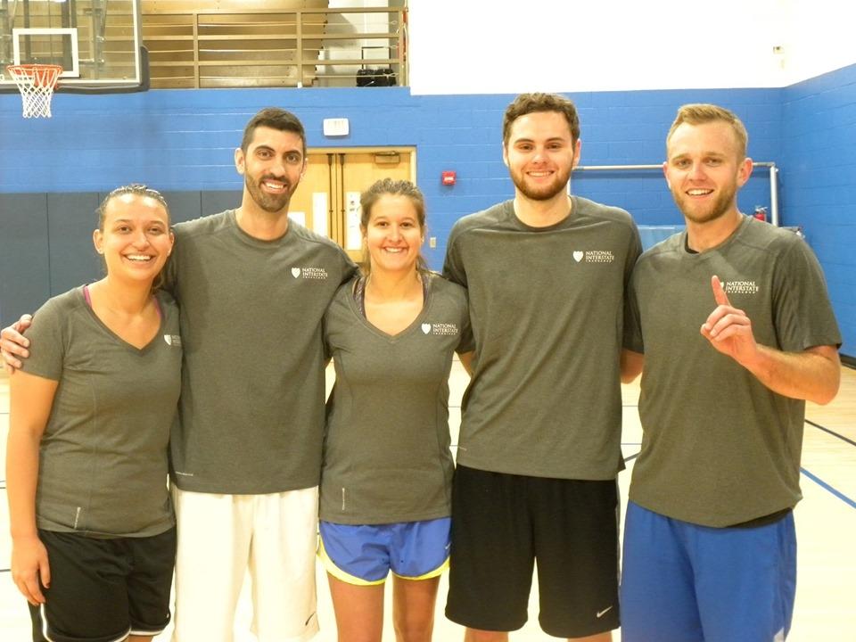 Akron Corporate Challenge Basketball Team