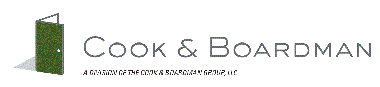 Cook & Boardman. Company Logo