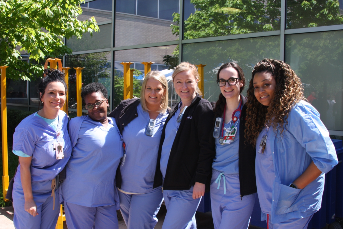 Summer picnics for West Chester Hospital staff are fun events that allow fellowship and camaraderie during busy work days.