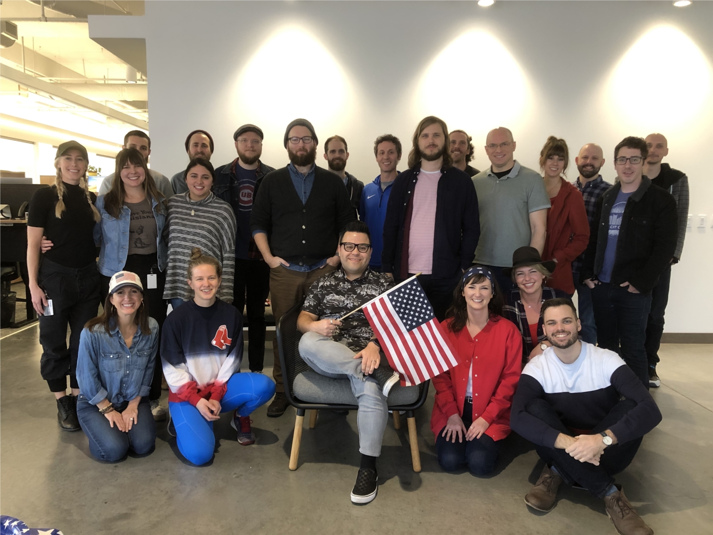 When one of our own became an American citizen, it was time to celebrate.