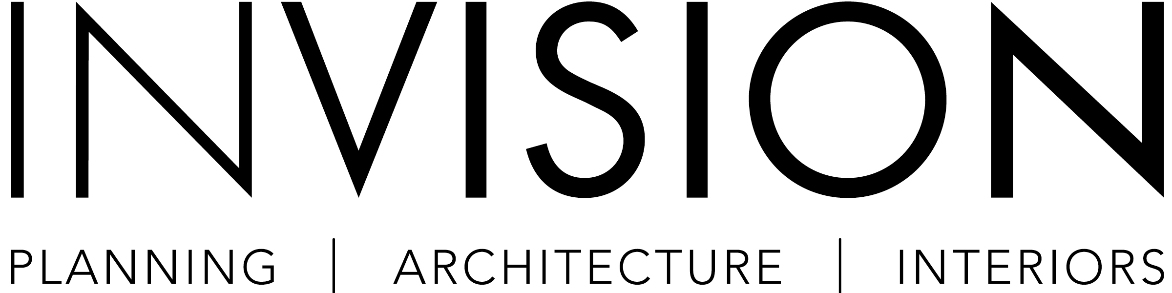 INVISION Planning, Architecture, Interiors Company Logo