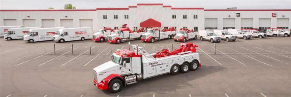 Blaine Brothers Minneapolis Location with Vehicle Fleet