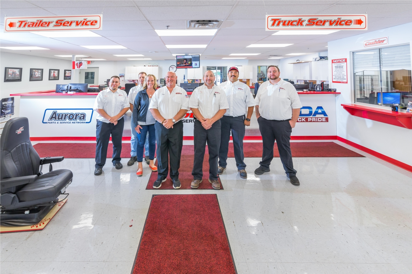 Our showrooms carry all the parts you need for trucks and trailers of all makes and models.
