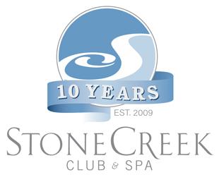 Stone Creek Club and Spa logo