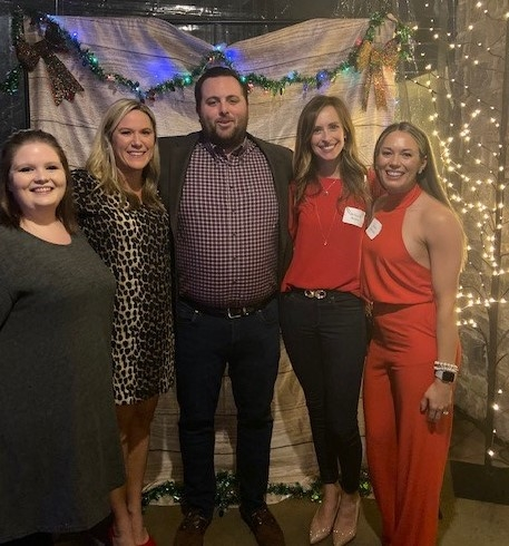 The Provider Network Team having fun at the myNEXUS Holiday Party 2019