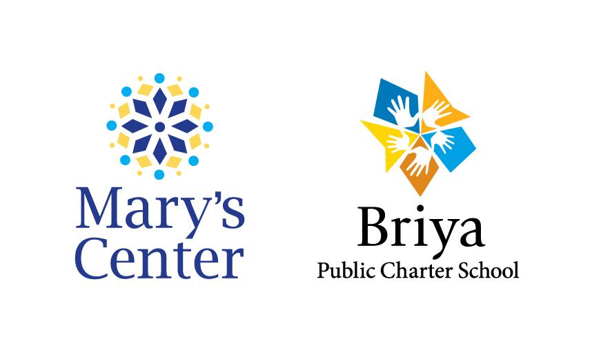 Mary's Center and Briya Public Charter School logo