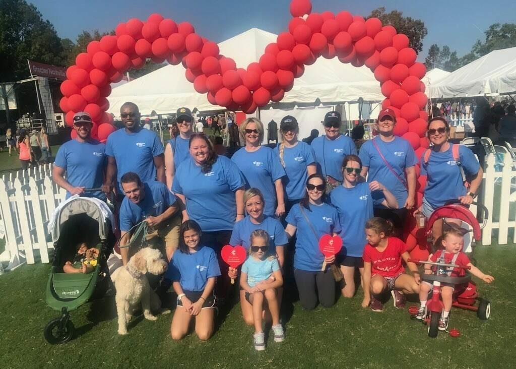 2019 American Heart Association Heart Walk