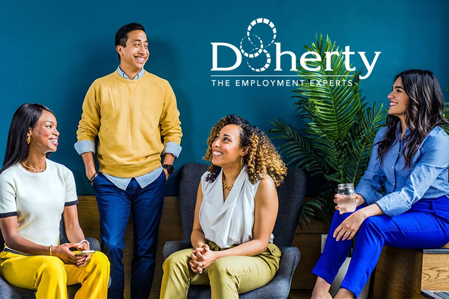At Doherty, we connect job seekers and employers in ways that are beneficial to both. We take great pride in our ability to attract and retain a skilled workforce. Doherty provides flexible employment options to our job seekers and offers some of the industry's best benefits.