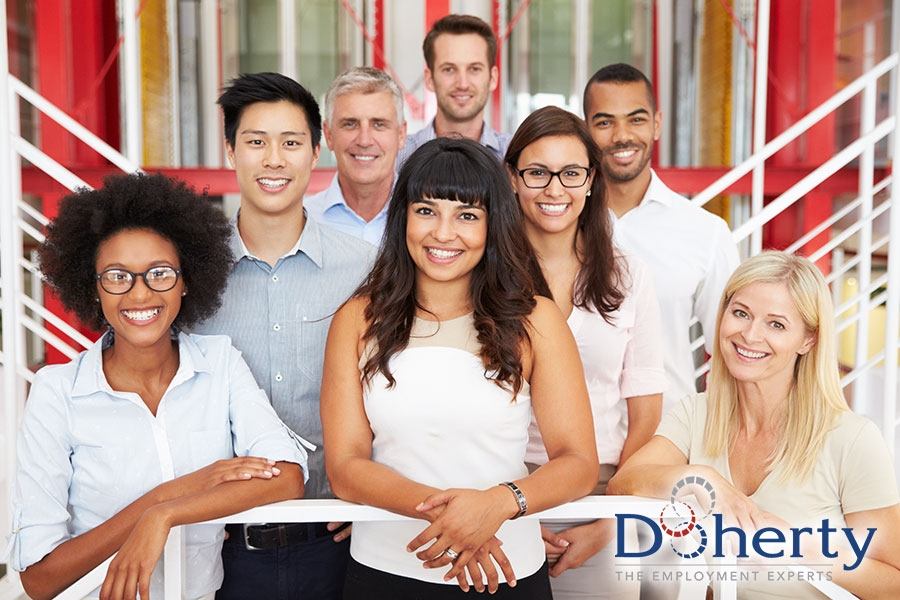 Doherty's Employment Experts provide exceptional customer service to both our business clients and our talented workforce team members. We like to call it the Doherty Difference!