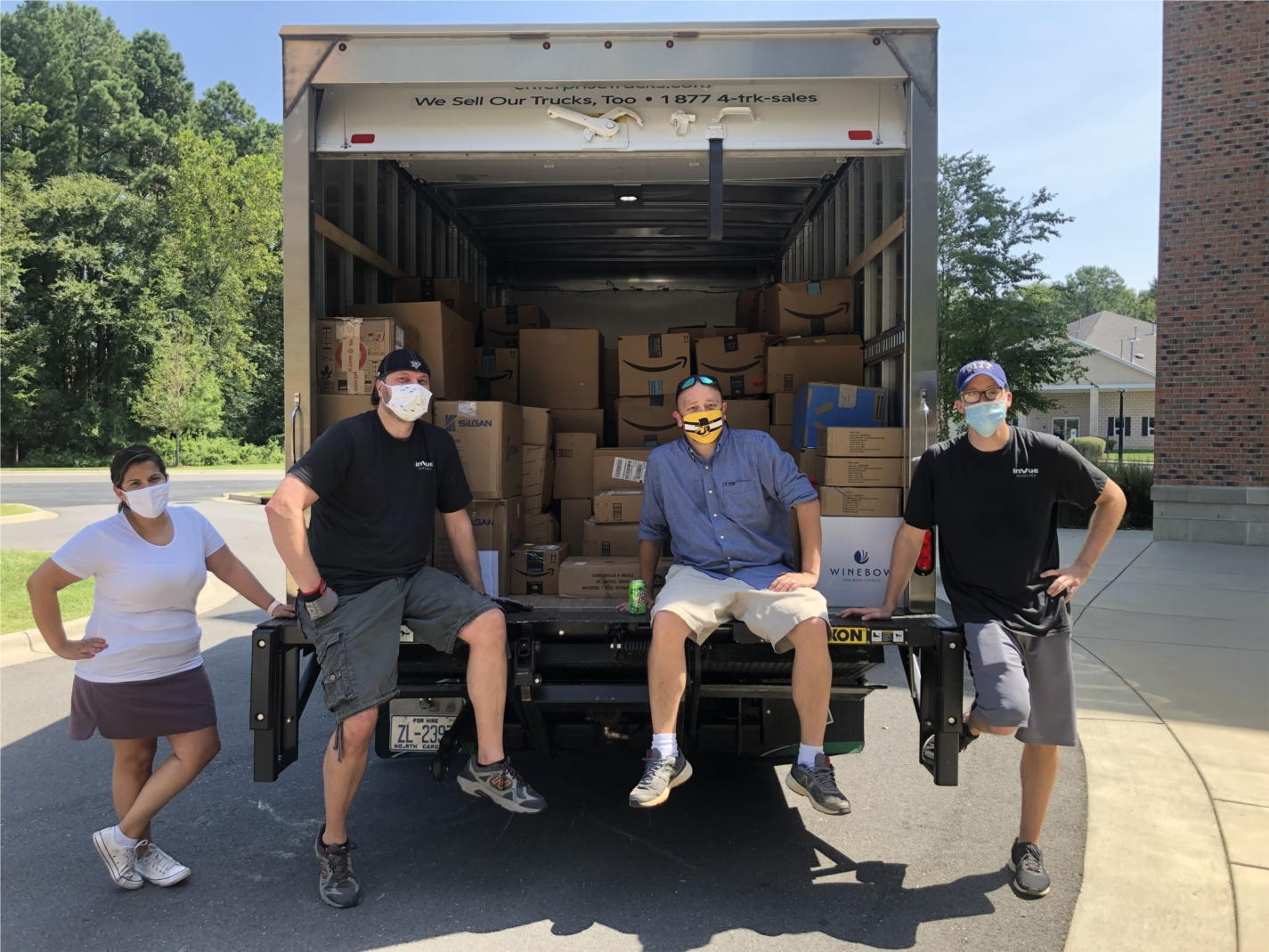 InVue received the Valedictorian Award from Classroom Central in the Annual Back to School Drive.  We were #1 in the Traditional Supply Drive, Surpassed the Fundraising Goal, and tripled last year's support!!  This year we raised 118,226 items for the kids and teachers in the Charlotte area.