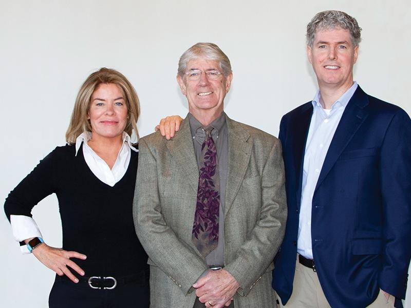 (left to right) Sharon Hennessey, Co-PresidentJim Hennessey, Executive Chairman/FounderJohn Hennessey, Co-President