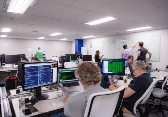 An OCI development team at work