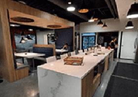 Kitchen & Breakroom area