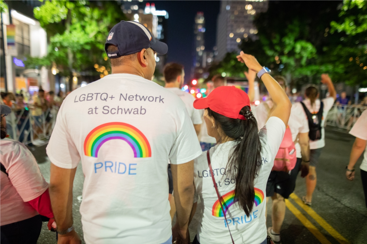 Schwabbies celebrate PRIDE