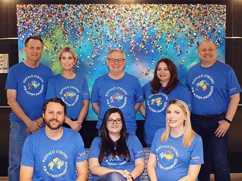Team Raskin Promoting Autism Awareness!