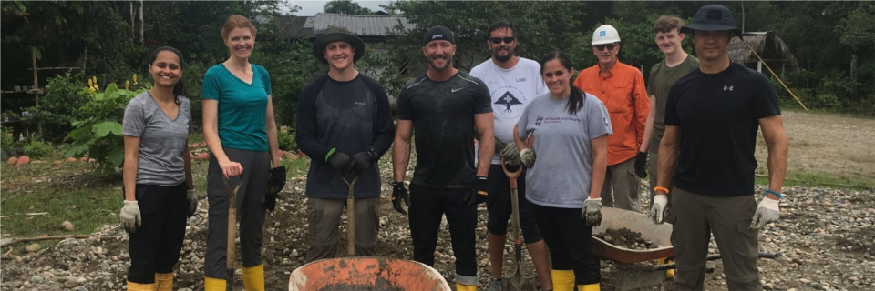 Each year, CHG sends Difference Maker award winners on a company-paid humanitarian trip. Last year, six CHG difference makers went to Ecuador to help build a school.