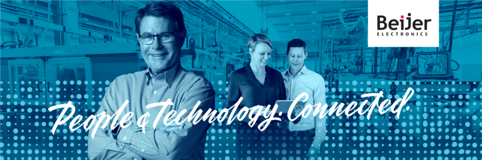 Beijer Electronics lives its vision statement: People & Technology. Connected.