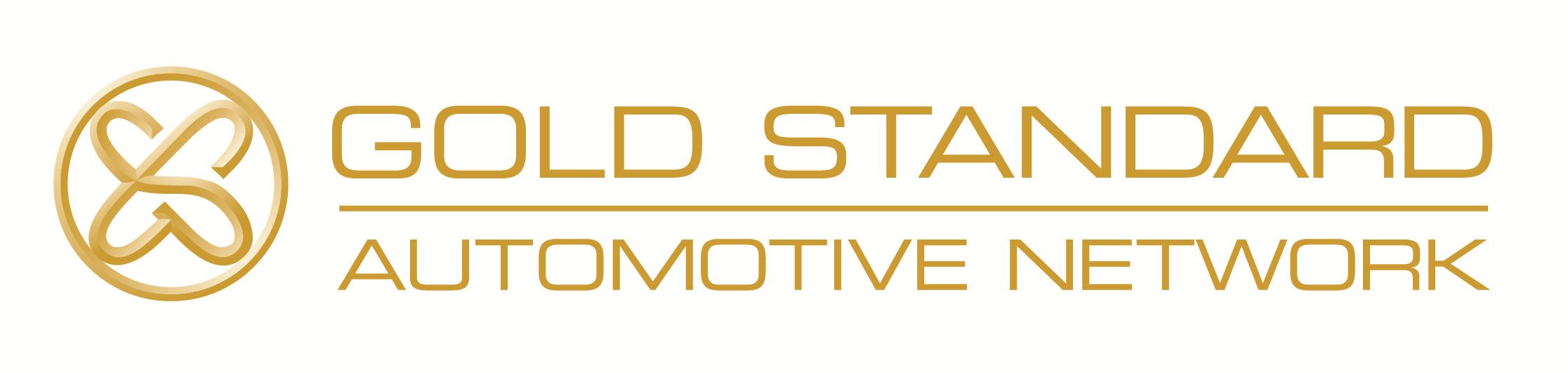 Gold Standard Automotive Network Company Logo