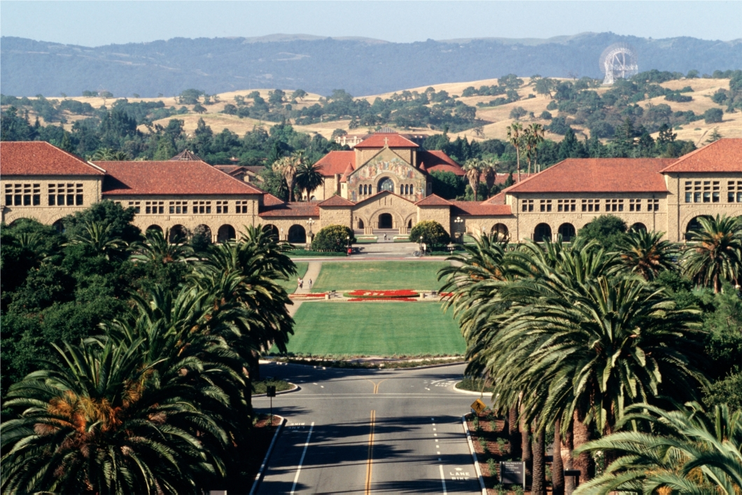 Stanford University is set on over 8,000 acres of land within both Santa Clara and San Mateo counties. Photo: Linda A. Cicero / Stanford News Service.