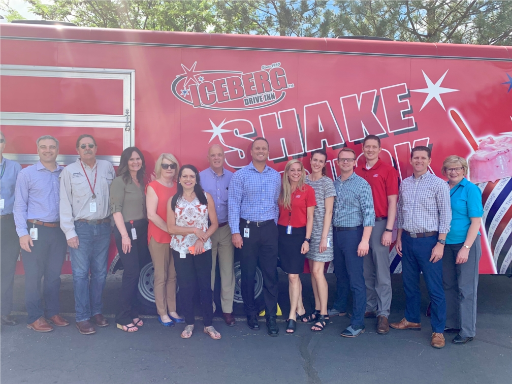 ARUP celebrated reaching an employee count of 4,000  with an Ice Cream Party! We had 7 different ice cream trucks.