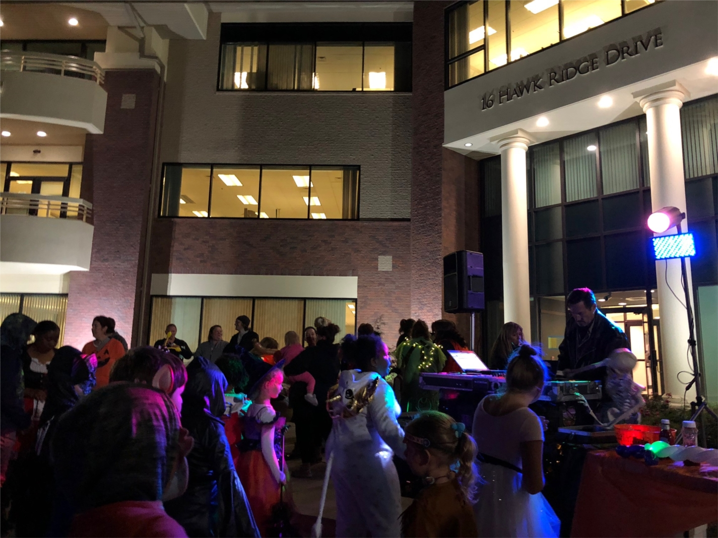 MTM staff and their families participate in trunk or treat activities at MTM's corporate office.