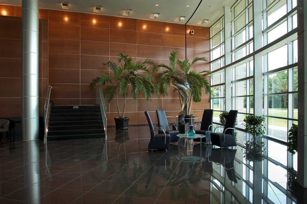 Lobby of Syniverse building (Tampa)