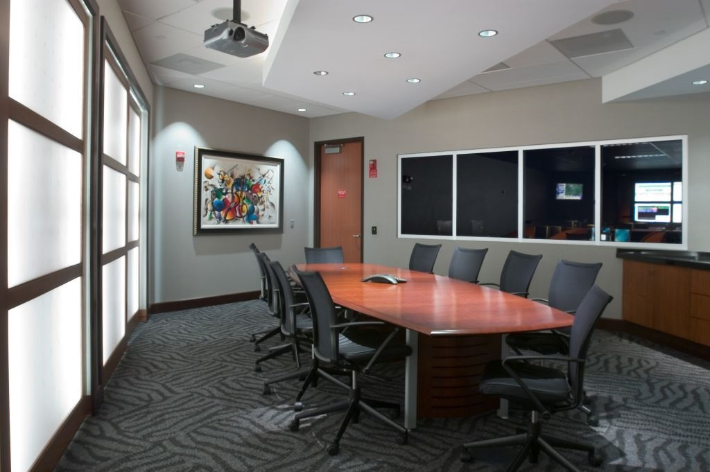 Conference room at Syniverse building (Tampa)