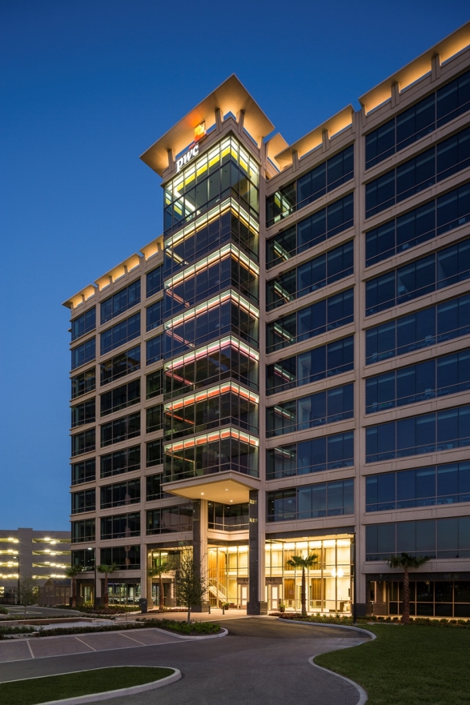 PwC is located in the Tampa Westshore business district.