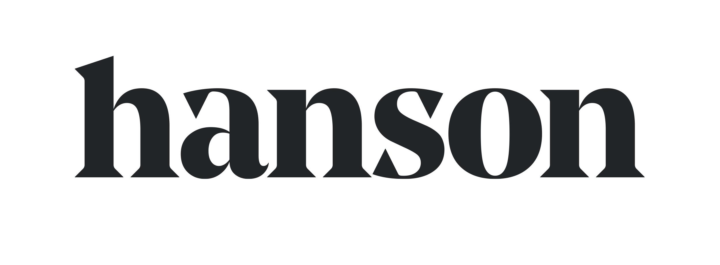 Hanson Inc. logo