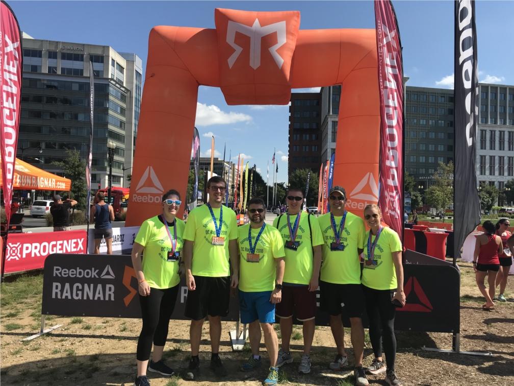HSP Direct Washington DC Ragnar team 2018.